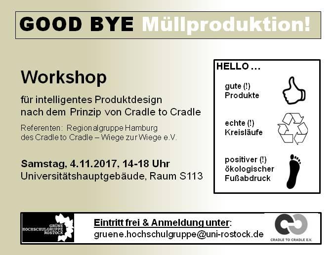 good bye m llproduktion workshop zu cradle to cradle asta universit t rostockasta. Black Bedroom Furniture Sets. Home Design Ideas
